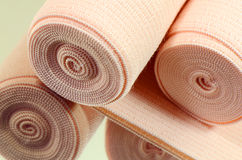 Elastic bandage roll. Stock Photography