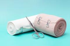 Elastic Bandage Stock Photo