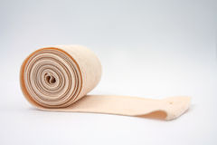 Elastic bandage on white background Royalty Free Stock Image