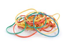 Elastic bands Royalty Free Stock Photo