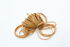 Elastic Bands isolated Stock Photos