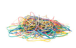 Elastic bands Stock Photography