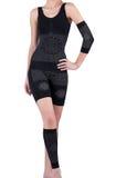 Elastic body slimmer dress Stock Images
