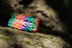 Elastic bracelet Royalty Free Stock Photos