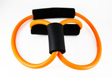 Elastic fitness band Stock Photography