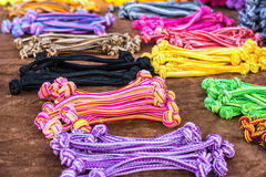 Elastic hair bands Royalty Free Stock Images