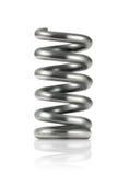 Elastic metal spring, vector icon Stock Photo