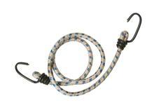 Elastic rope with hooks Royalty Free Stock Image