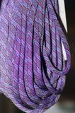 Elastic ropes stock photography