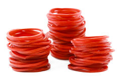 Elastic rubber for with background Royalty Free Stock Images