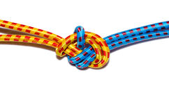 Elastic straps rope Royalty Free Stock Images