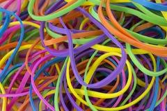 Elastici elastici colorati neon immagine stock libera da diritti