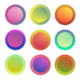 Elasticitet för sol för angularity för handlingsymbolslogo stock illustrationer