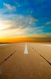 elasticiteter för avståndslandningsbanaspare Royaltyfri Fotografi