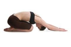 Elasticity woman Royalty Free Stock Photo