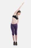 Elasticity woman Royalty Free Stock Photos