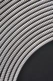 Elastico del condotto d'acciaio flessibile Fotografie Stock Libere da Diritti