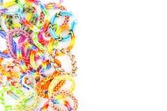 Elastiekjesarmbanden Royalty-vrije Stock Afbeelding