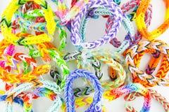 Elastiekjesarmbanden Royalty-vrije Stock Afbeeldingen