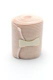 Elastische ACE-Druckverbandverzerrung ausgepackt Lizenzfreies Stockfoto