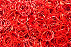 Elasttic rubber Royalty Free Stock Images
