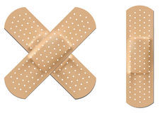 elastyczna bandaż tkanina Fotografia Stock