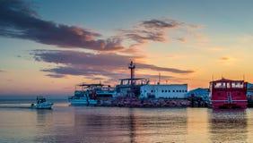Elat-Jachthafen Lizenzfreie Stockfotos