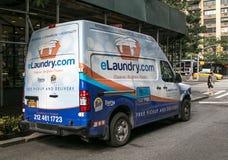ELaundry-Fahrzeug Stockbild