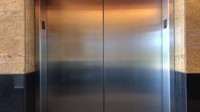 Elavator door opens and shuts. Video footage stock video footage