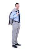 Elaxed young business man Royalty Free Stock Images