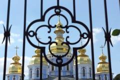 Żelaza grille kościół Obraz Royalty Free