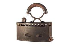 żelaza stary odosobniony Zdjęcia Stock