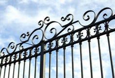Żelazna brama Zdjęcia Royalty Free