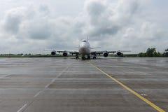Żelazna dziewczyny Boeing 747 Ed siła Jeden Obrazy Royalty Free