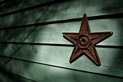 żelazna gwiazda Zdjęcia Royalty Free