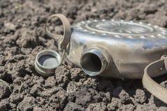 Żelazna kolba bez wody pitnej Obrazy Royalty Free