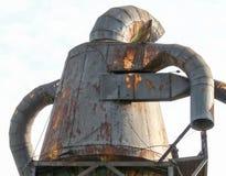 Żelazna statua przy Bronx zdjęcie stock