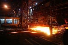 Żelazne Steelmaking pracy Zdjęcia Royalty Free