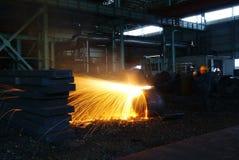 Żelazne Steelmaking pracy Obraz Stock