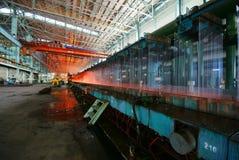 Żelazne Steelmaking pracy Zdjęcie Stock