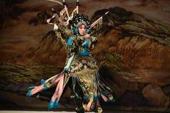 """Żelaznego konia pistoletu Pekin Opera"""" kobiet generałowie Yang Family† Obraz Royalty Free"""