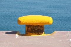 Żelazny doku cleat Obrazy Royalty Free