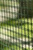 Żelazny druciany ogrodzenie zdjęcia royalty free