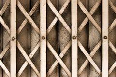 Żelazny drzwi Zdjęcia Royalty Free