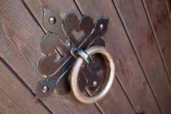 żelazny drzwi knocker Obrazy Royalty Free