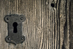 Żelazny keyhole zdjęcie stock