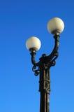żelazny lamppost zdjęcia stock