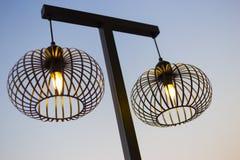 Żelazny lamppost Obraz Stock