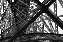 Żelazny most Obrazy Stock