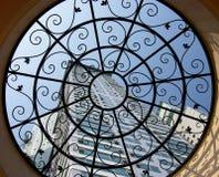 żelazny okno Obrazy Stock